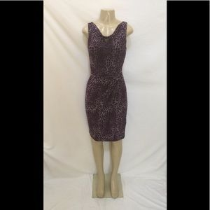 Lauren Ralph Lauren Size 8 Leopard Print Dress